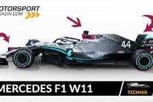 Formel 1 - Video: Formel 1 Autos 2020: Mercedes F1 W11 im Technik-Check