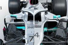 Formel 1, Mercedes F1 W11 im Technik-Check: Radikale Neuerungen