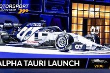Formel 1 - Video: Neues Formel-1-Team: Alpha Tauri Präsentation 2020