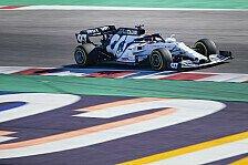 Formel 1 - Video: AlphaTauri Honda: Eine Runde beim Shakedown in Misano