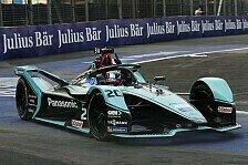 Formel E Marrakesch 2020, 2. Training: Evans vor di Grassi