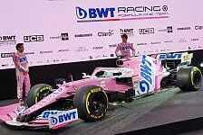Formel 1, 2020: Racing Point zeigt Auto und neuen Titelsponsor