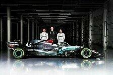 Formel 1 - Video: Mercedes gewährt spannende Einblicke: Die Nacht vor dem Launch