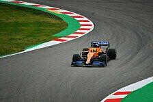 Formel 1 2020: Shakedown des McLaren MCL35 in Barcelona