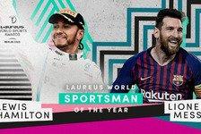 Formel 1 - Video: Hamiltons Rede als Laureus World Sportsman of the Year 2020