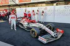 Formel 1 2020: Präsentation Alfa Romeo C39 in Barcelona