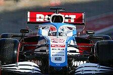 Formel 1, Russell lobt neuen Williams: Hatte eine Scheißangst