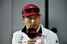 Formel 1, Interview: Sprachnachricht von Kimi Räikkönen