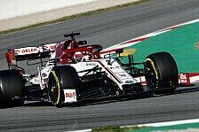 Formel 1 Tests Barcelona: Räikkönen-Bestzeit, Grosjean-Crash