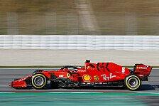 Formel 1: Sebastian Vettel tauft seinen neuen Ferrari Lucilla