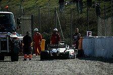 Formel 1, Haas erklärt Test-Crash: Selbstzerstörung im Rad
