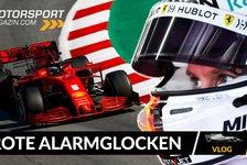 Formel 1 - Video: Formel 1 2020, 3. Testtag: Roter Alarm bei Ferrari