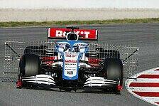 Formel 1 - Video: Williams-Rookie Nicholas Latifi: So läuft Tag 1 als F1-Fahrer