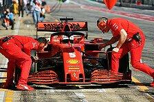 Formel 1 - Ferrari hintendran: Geben sie 2020 wegen 2021 auf?