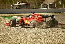 Formel 1 Testfahrten 2020: Vettel-Bestzeit bei Dreher-Orgie
