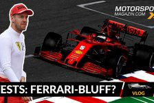 Formel 1 - Video: Formel 1 Testfahrten 2020: Blufft Ferrari nur?