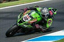 Superbike-WM: Alex Lowes verlängert bei Kawasaki in der WSBK