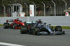 Formel 1 Testfahrten: Verstappen scheitert an Bottas-Bestzeit