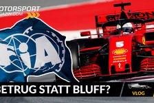 Formel 1 - Video: Formel 1: FIA-Hammer: Hat Ferrari doch beim Motor geschummelt!?