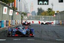 Formel E, Rookie-Test: Cassidy fährt Bestzeit
