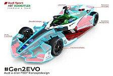 Formel E - Video: Formel E: Audi zeigt Wandel vom Gen2- zum Gen2-EVO-Rennauto