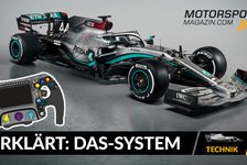 Formel 1 - Video: Formel 1 erklärt: So funktioniert das DAS-System von Mercedes
