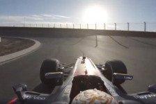 Formel 1 - Video: Video: Max Verstappen onboard durch Zandvoort-Steilkurven!