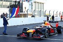 Formel 1: Max Verstappen dreht erste F1-Runden in Zandvoort