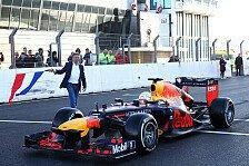 Max Verstappen fährt erste Formel-1-Runden im neuen Zandvoort