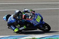 Moto3 - Dirk Geiger bereit für Debüt in Katar