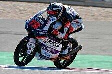 Moto3 Katar 2020: Arenas gewinnt, Kollision in letzter Runde