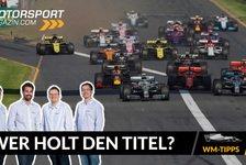 Formel 1 - Video: Unsere WM-Tipps: Wer wird Formel 1 Weltmeister 2020?