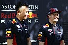 Formel 1 - Video: Formel 1: Fan-Fragen an Red-Bull-Fahrer Verstappen & Albon