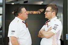 Neue Formel-1-Regeln - McLaren: Nötige Anpassung wird schmerzen