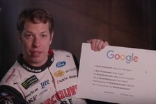 NASCAR - Video: NASCAR-Pilot Brad Keselowski antwortet auf Google-Fragen