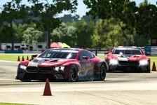 Sim Racing: Erfolgreicher Samstag für BMW-Werksfahrer