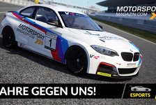 Motorsport-Magazin.com goes eSports: Simracing-Action im April