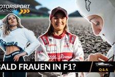 Formel 1 - Video: Formel 1 Q&A: Gibt es bald eine F1-Pilotin?