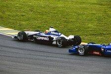Formel 1 heute vor 19 Jahren: Zwei Auffahrunfälle bei Williams