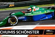 Formel 1 - Video: Schumis erstes Formel 1-Auto: einer der schönsten F1-Boliden