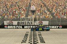 eSports NASCAR: Byron gewinnt Gelb-Spiele im Bristol-Kolosseum