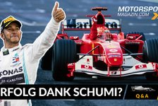 Formel 1 - Video: Formel 1 Q&A: Profitiert Hamilton nur von Schumachers Vorarbeit
