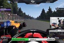 F1-Stars fahren gegen Corona: Leclerc vs Albon im Brüder-Battle
