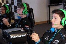 Formel 1 - Video: Formel-1-Video: Williams-Junioren liefern sich eSports-Battle