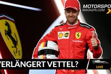 Formel 1 - Video: Formel 1: Verlängert Vettel noch vor Saisonstart bei Ferrari?