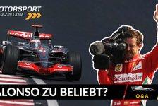 Formel 1 - Video: Formel 1 Q&A: Warum ist Fernando Alonso so beliebt?