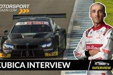 Robert Kubica exklusiv: DTM auf gleichem Level wie Formel 1