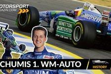 Formel 1 - Video: Benettons Wunderwaffe: Michael Schumachers erstes WM-Auto