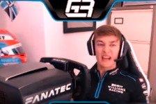 Formel 1 - Video: Formel 1 eSports: Russell angewidert von virtuellen Stewards