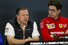 Formel-1-Kosten: McLaren schießt gegen Ferrari - realitätsfern!